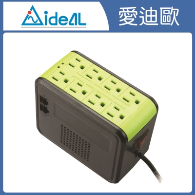 愛迪歐AVR-全方位電子式穩壓器-PSC-1000-1KVA-蘋果綠