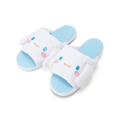 Sanrio 大耳狗喜拿可愛大臉毛巾布室內拖鞋