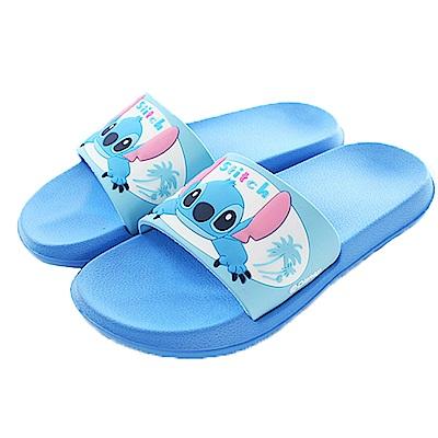 迪士尼史迪奇休閒拖鞋 藍 sk0392 魔法Baby