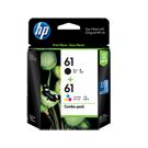 HP CR311AA No.61 黑色+彩色 墨水組合包