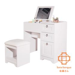 Sato-ANRI小日子化妝三抽桌椅組