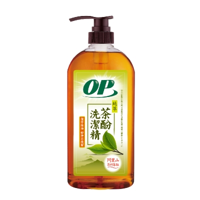 OP純萃茶酚洗潔精(1000g)