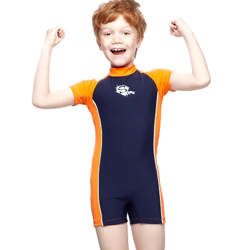 聖手牌 兒童泳裝 連身式兒童水母衣