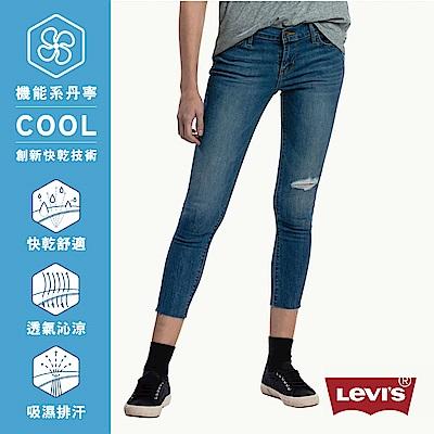 牛仔褲 修身 711中腰緊身 Cool Jeans 彈性布料 INDIGO - Levis