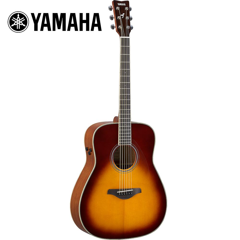 YAMAHA FG-TA BS TransAco 電民謠木吉他 大漠漸層色