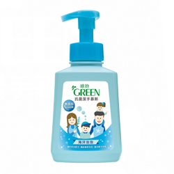 綠的GREEN 抗菌潔手慕斯-海洋泡泡500ml*1