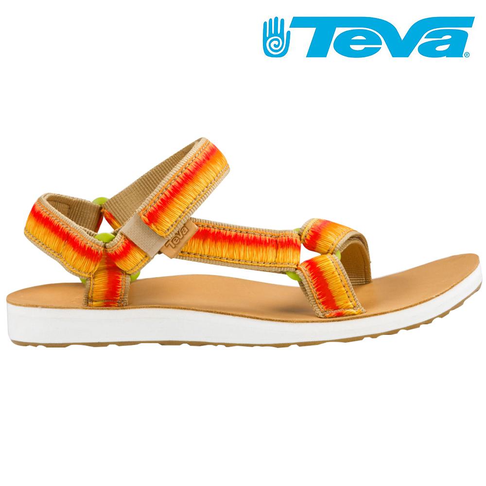 TEVA ORIGINAL UNIVERSAL OMBRE 女休閒涼鞋 橘黃