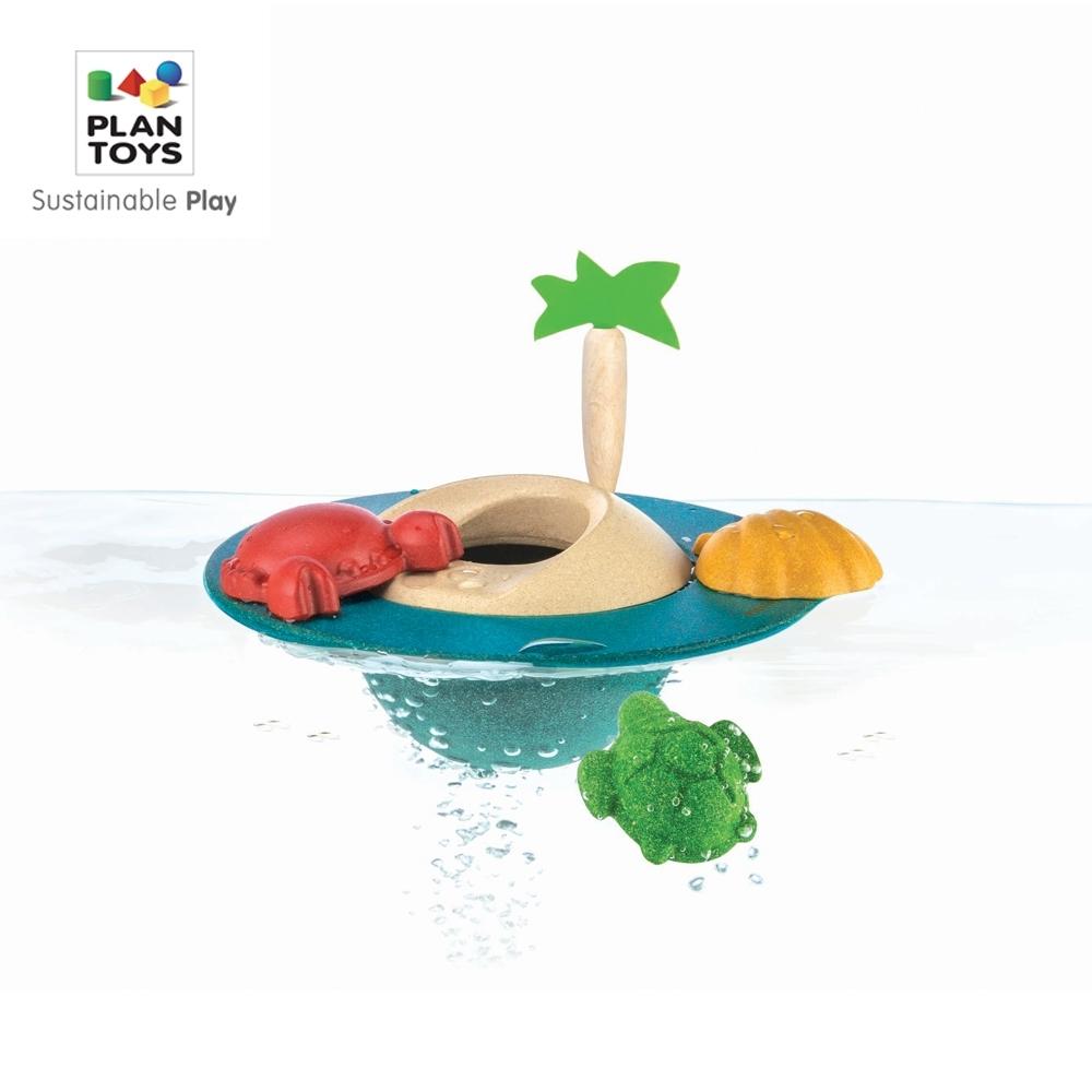 GMP BABY PLAN TOYS 漂浮小島- 玩水組1組(1Y+)