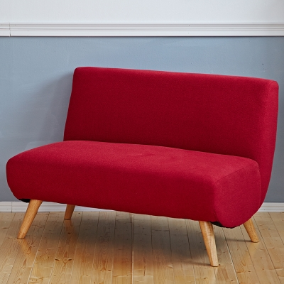 Bed Maker-安娜‧雙人2P/布沙發/日系經典沙發椅
