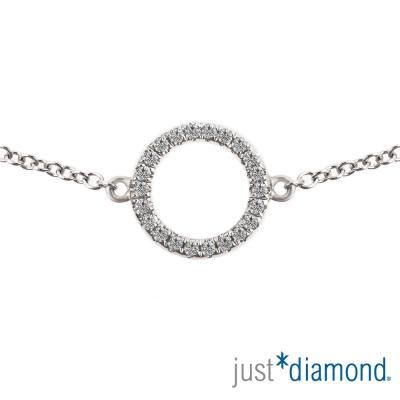 Just Diamond 18K金鑽石手鍊-Fantasy Dream