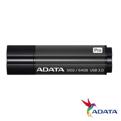 ADATA威剛 S102 pro 64G 行動碟