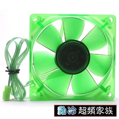 EVERCOOL 勁冷超頻家族 靜音8公分環保風扇