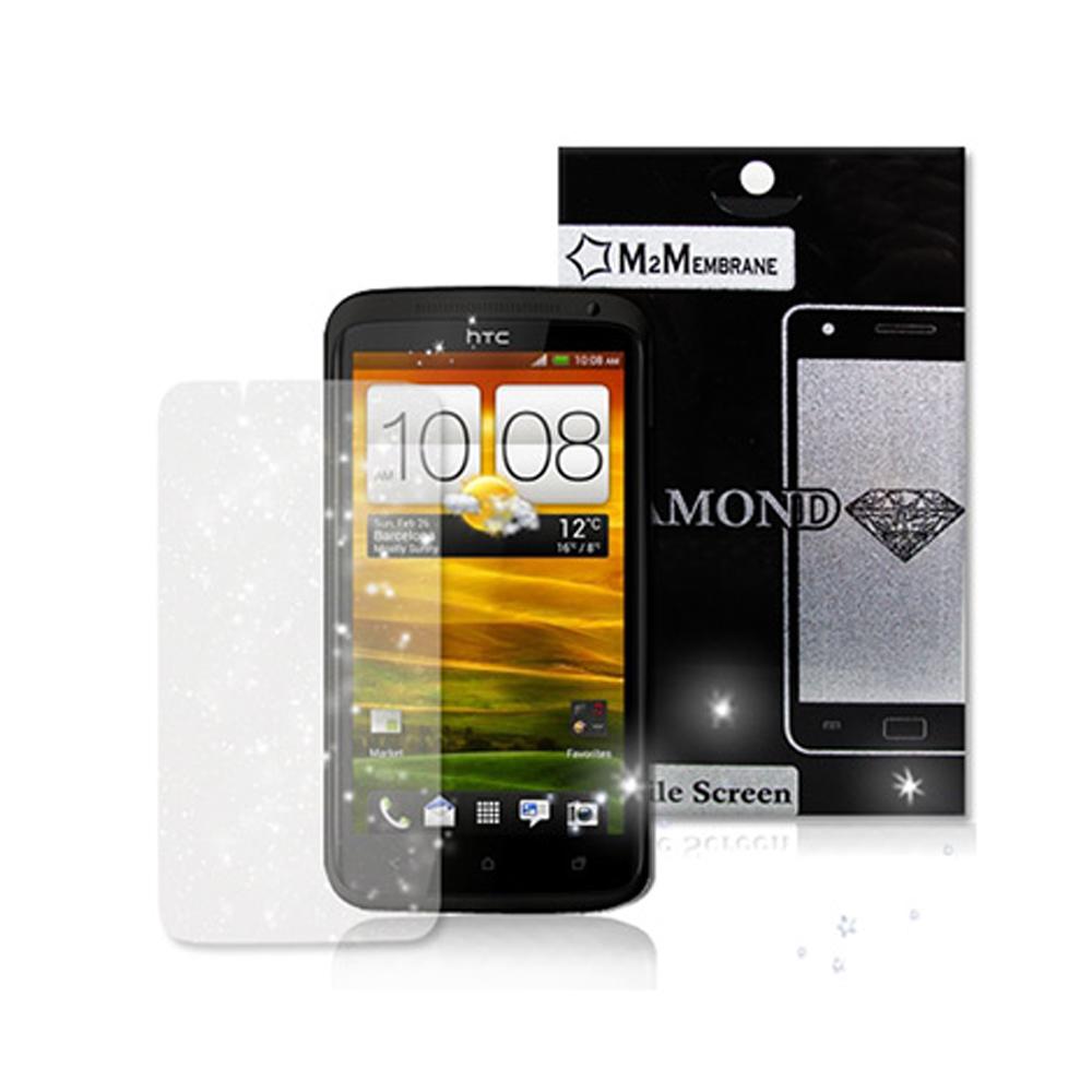 HTC ONE X S720E 極速機 銀河系銀粉鑽石膜 保護貼