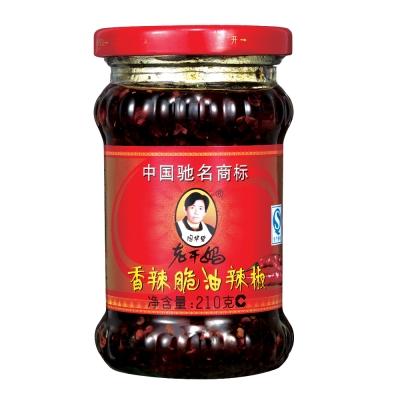 老干媽 香辣脆油辣椒(210g)