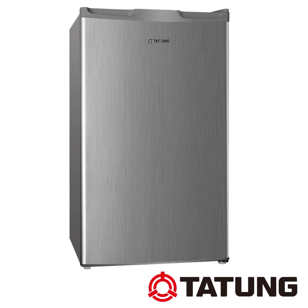 TATUNG大同 單門冰箱100L-白金銀 (TR-100HT-S)