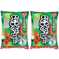 日本IRIS 靜岡綠茶豆腐貓砂 7L (OCN-70N) x 2包入