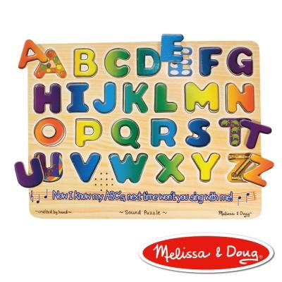 美國瑪莉莎 Melissa & Doug 聲音拼圖-英文字母學習