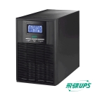 飛碟-On Line 3KVA UPS (在線式) ECO節能高效+USB監控軟體+LCD