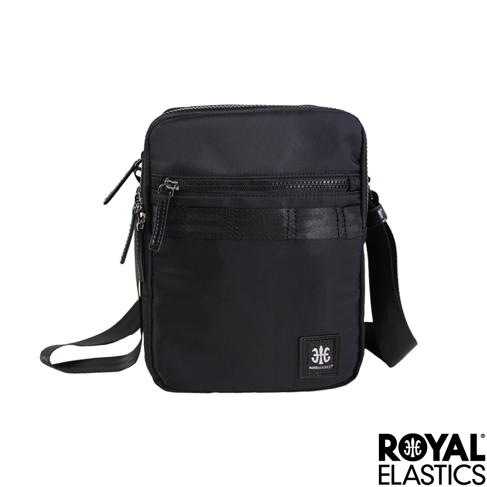RoyalElastics - 經典豎款斜背包 - Knight 闇黑騎士系列
