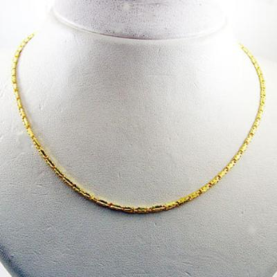 Manstyle「狀元及第」黃金項鍊