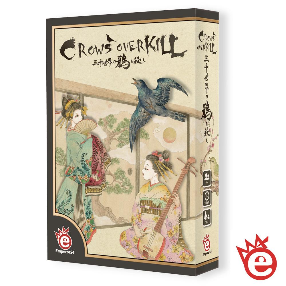 【英普睿思桌遊】Crows Overkill 三千世界鴉殺盡