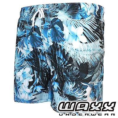 WAXX 熱浪系列-璀璨之星快乾型男海灘褲(15英吋)