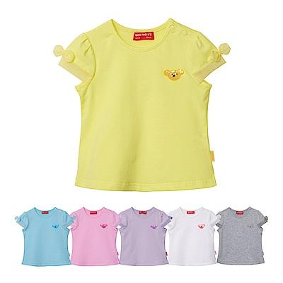 WHY AND 1/2 mini 網紗袖棉質萊卡T恤 1Y-4Y 多色可選