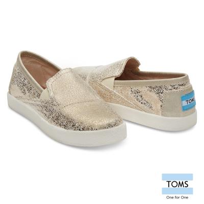 TOMS 復古金屬懶人鞋-孩童款