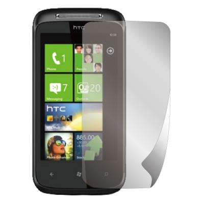 ZIYA HTC 7 Mozart 抗刮螢幕保護貼 (兩入裝)