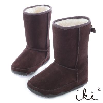 iki2網友最推薦-魅力機能性美腿長筒雪靴-深咖