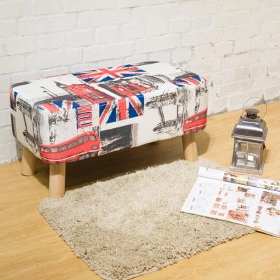 Boden 英倫風長方型沙發椅凳/腳椅/穿鞋椅