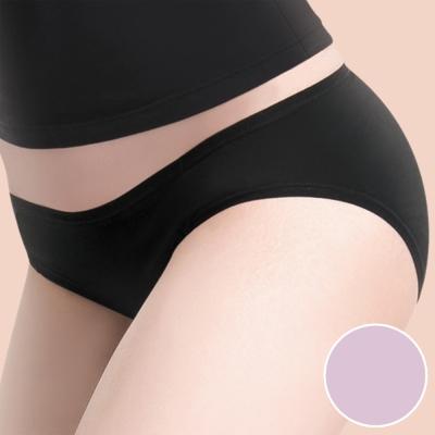 莎薇 MODAL-防臭抗菌-健康褲 -M-LL 低腰三角褲(芋香紫)