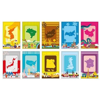 拍立得相片裝飾貼紙-World-世界旅行-相框裝飾