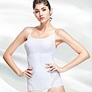 THECURVE全速修身微整型輕塑衣 細肩帶款-白色