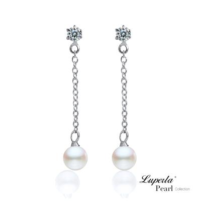 大東山珠寶 天然淡水珍珠耳環 可愛寶貝
