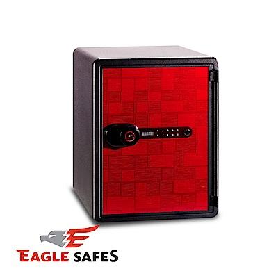 凱騰 Eagle Safes 韓國防火金庫 保險箱 (NPS-031D-BR)(紅格紋)