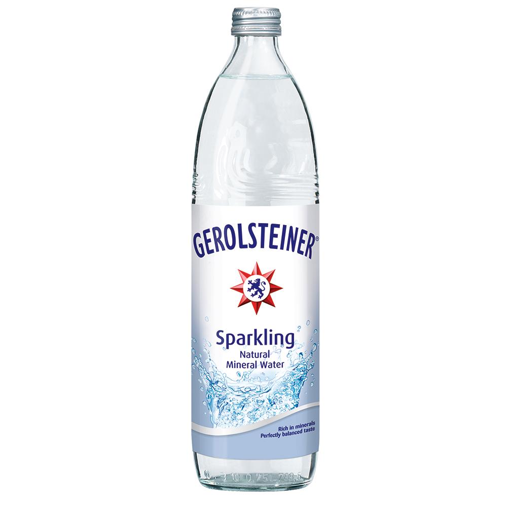GEROLSTEINER 天然氣泡礦泉水(750mlx15入)