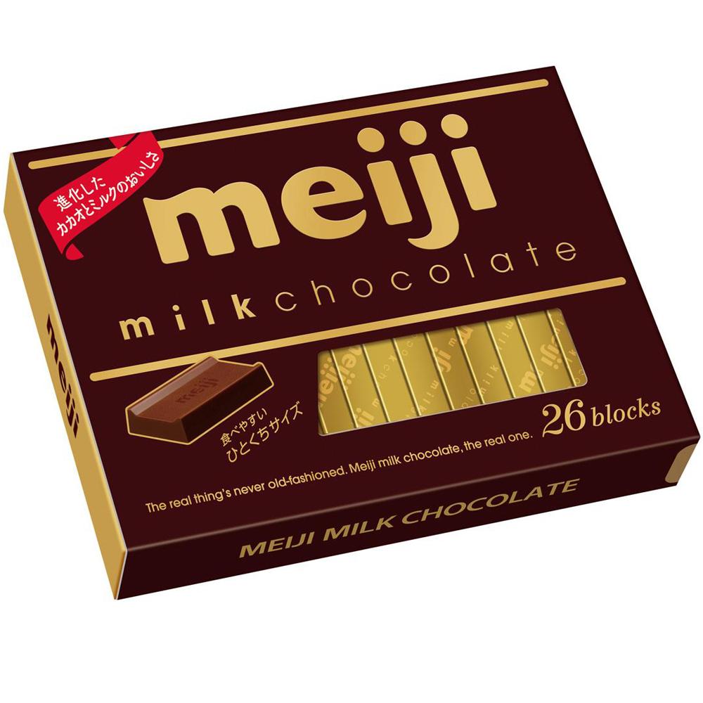 明治 牛奶巧克力26枚盒裝(120g)