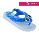 IPANEMA 寶寶 歡樂絨絨休閒鞋-藍色印花
