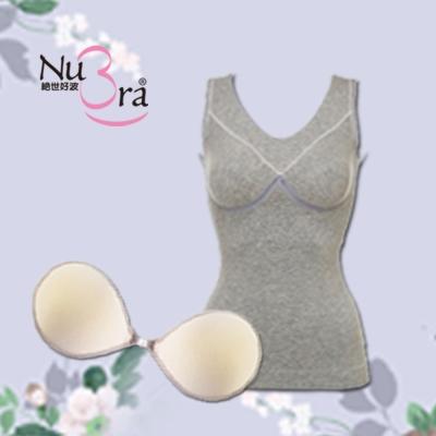 NuBra-隱形胸罩-內搭保暖衣-F-Lite自然
