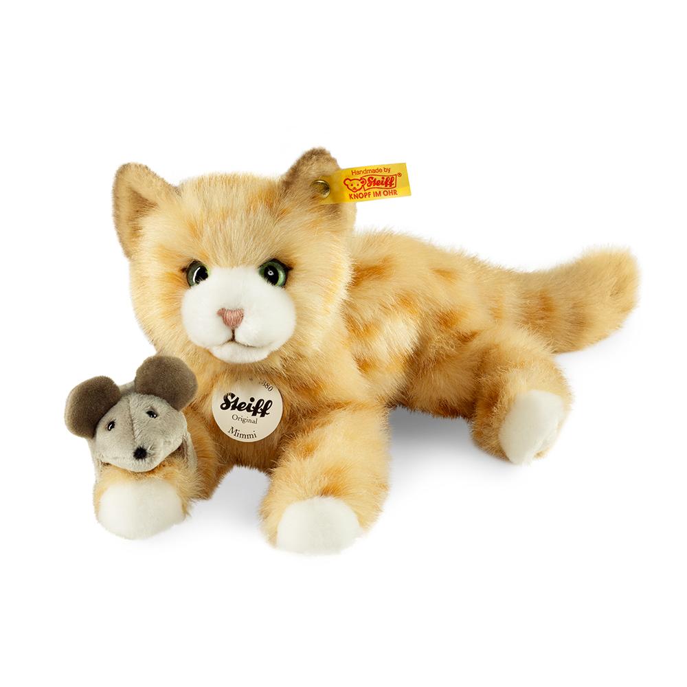 STEIFF德國金耳釦泰迪熊 - Mimmi Cat 貓咪 (寵物樂園)