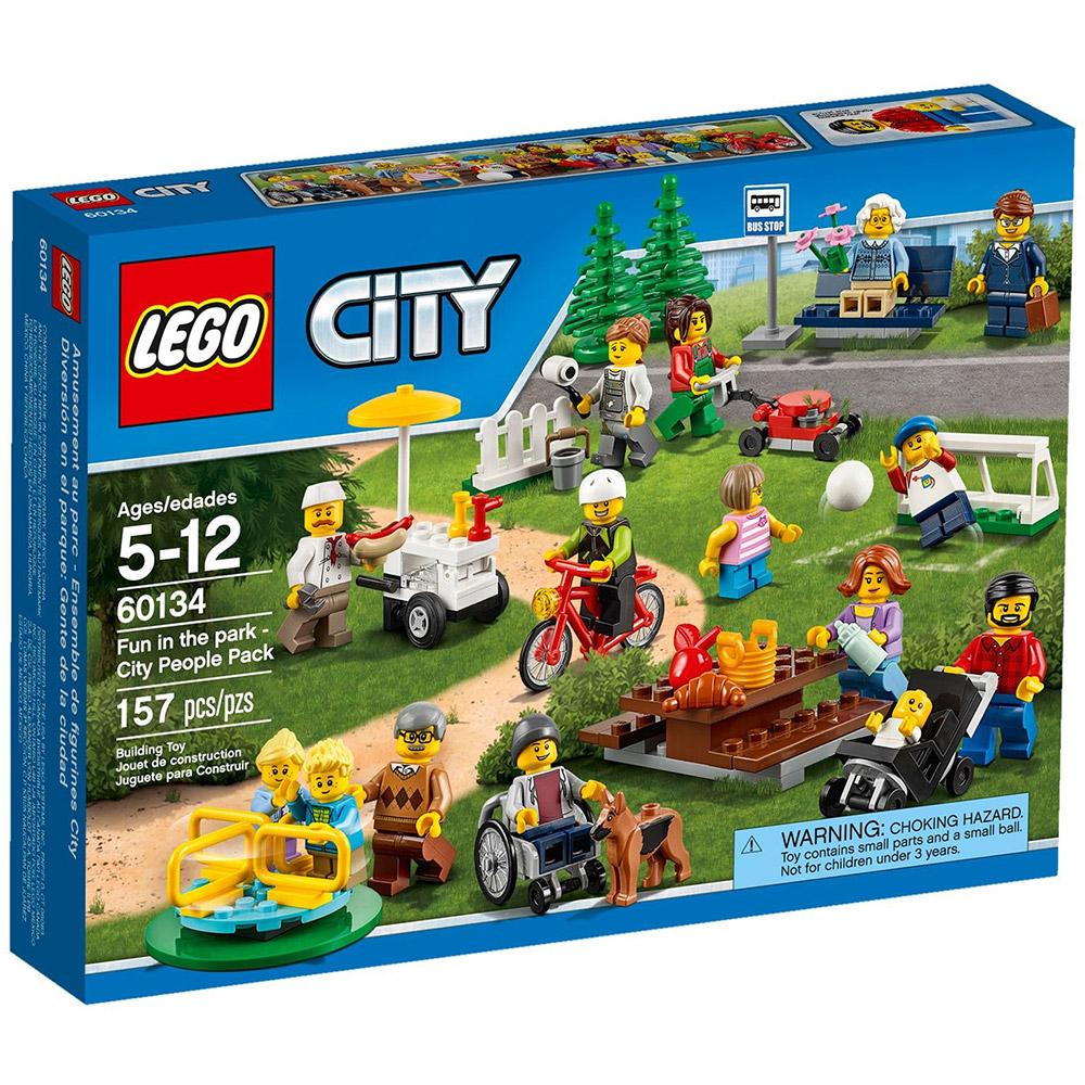 LEGO樂高 城市系列 60134 歡樂遊園 城市系列人偶套組