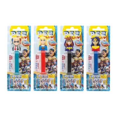 PEZ 水果糖-DC女超人系列(25.5g)