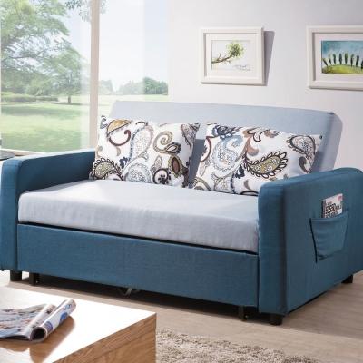 沙發床 約克夏 多功能雙人布面沙發 品家居