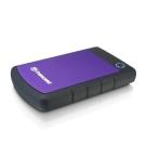 創見 H3P 4TB USB3.1 2.5吋行動硬碟(紫色)