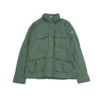 Timberland 女款鴨綠色超輕野戰夾克
