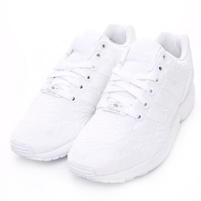 ADIDAS-ZX FLUX女休閒鞋-白