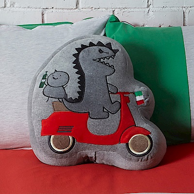 Yvonne Collection恐龍哥造型抱枕