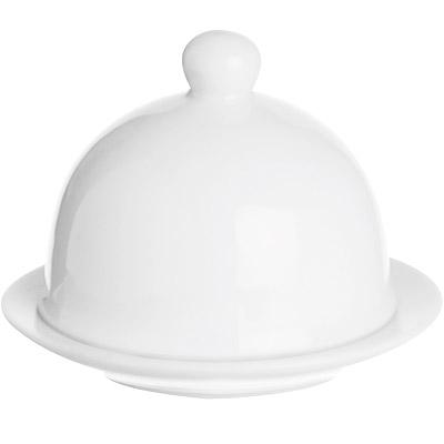 EXCELSA White附蓋奶油盤(7.6cm)