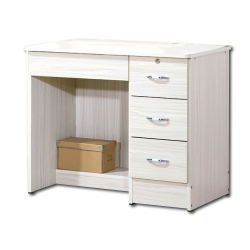 簡約Poll白雪杉3尺書桌 - 91x54x73cm